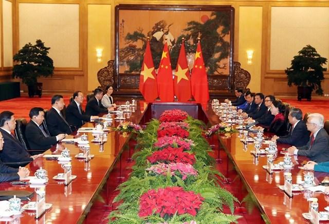 [ẢNH] Chủ tịch Quốc hội hội kiến với các nhà lãnh đạo Trung Quốc - 2