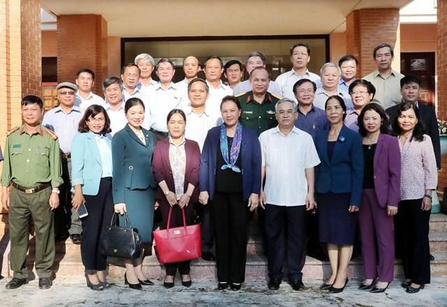 Chủ tịch Quốc hội Nguyễn Thị Kim Ngân làm việc tại tỉnh Kon Tum - 1