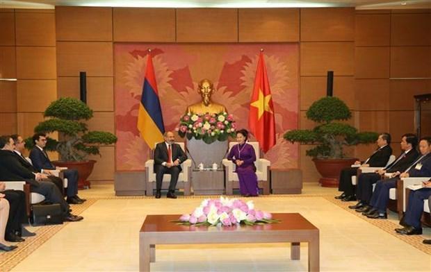 Chủ tịch Quốc hội Nguyễn Thị Kim Ngân hội kiến Thủ tướng Armenia - 1