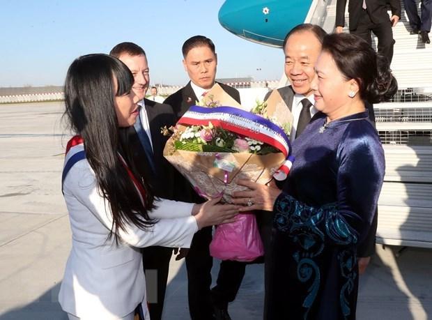 Chủ tịch Quốc hội Nguyễn Thị Kim Ngân thăm chính thức Cộng hòa Pháp - 1