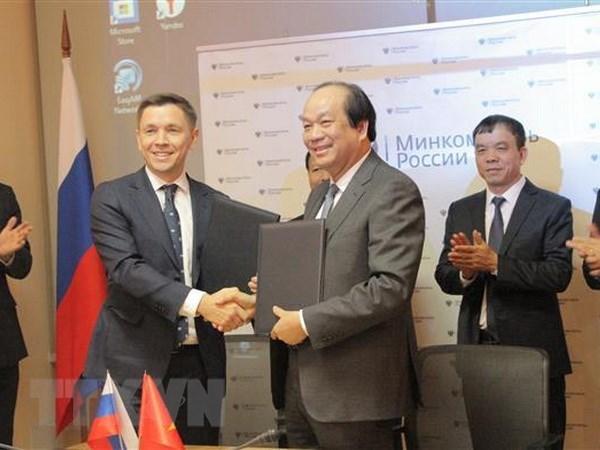 Việt Nam - Nga thúc đẩy hợp tác trong xây dựng chính phủ điện tử - 1
