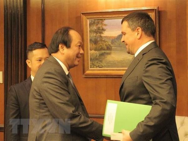 Việt Nam - Nga thúc đẩy hợp tác trong xây dựng chính phủ điện tử