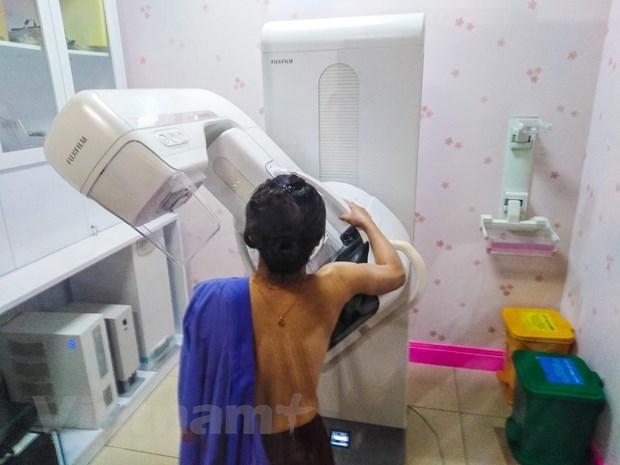 Bệnh viện Bạch Mai triển khai công nghệ mới hút u vú không cần phẫu thuật - 1