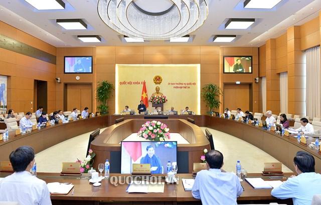UBTVQH xem xét, phê chuẩn bổ nhiệm nhân sự, thành lập đơn vị hành chính mới