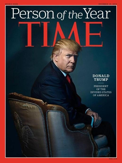 Vì sao Donald Trump trở thành nhân vật của năm 2016?
