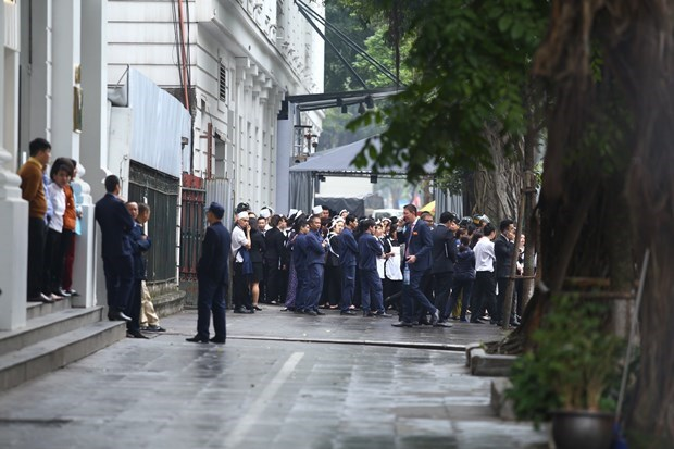 Đoàn Triều Tiên kiểm tra khách sạn Metropole