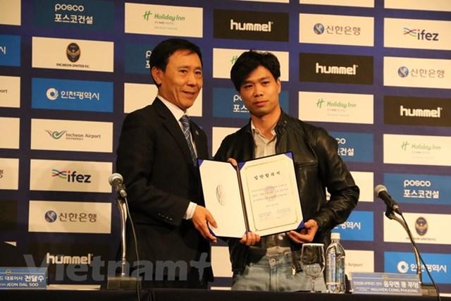 Công Phượng chính thức ra mắt cổ động viên Incheon United - 1