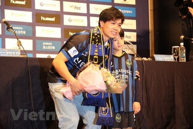 Công Phượng chính thức ra mắt cổ động viên Incheon United - 2