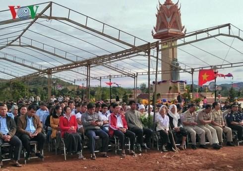 Khánh thành Tượng đài Hữu nghị Việt Nam - Campuchia - 1