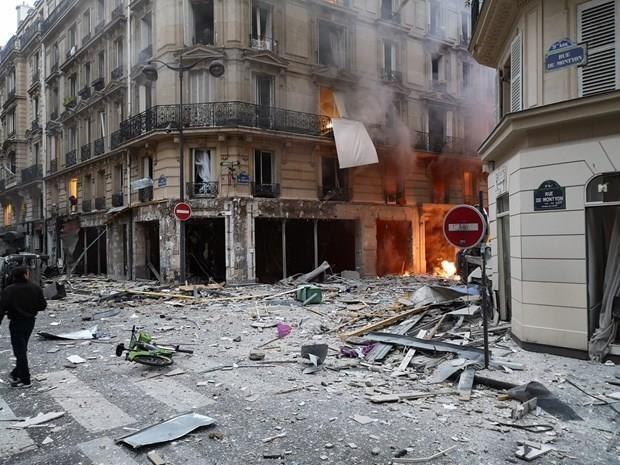 Pháp: Vụ nổ lớn xảy ra tại một tòa nhà ở thủ đô Paris