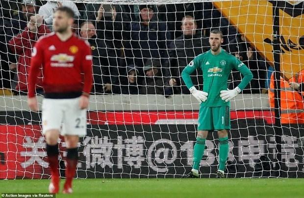 Manchester United lại phải 'nếm trái đắng' trước Wolverhampton - 1