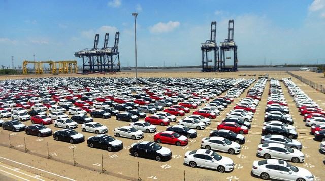 'Thất thu' hơn 7.000 tỷ đồng vì ô tô nhập khẩu giảm