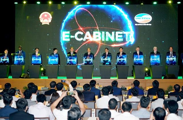 Khởi đầu cho Chính phủ số, Viettel e-Cabinet giành giải Sao Khuê 2020