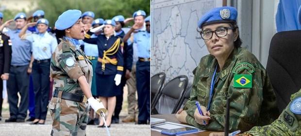 LHQ trao thưởng cho hai nữ quân nhân của lực lượng gìn giữ hòa bình