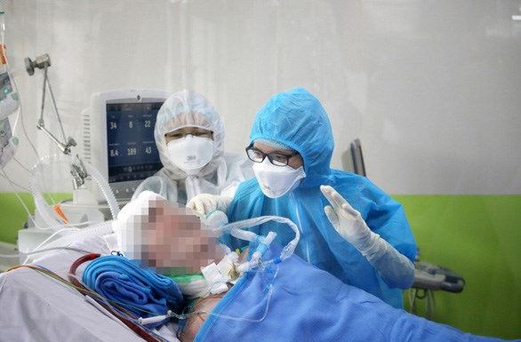 Bệnh nhân 91 hồi phục phổi 40%, phản xạ tốt hơn