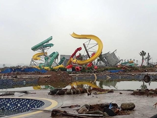 Công viên nước Thanh Hà xây không phép: Chính quyền quận thiếu trách nhiệm