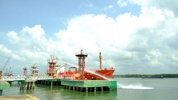 KVT diễn tập tình huống an ninh cảng biển và ứng phó sự cố tràn dầu 2020 - 2
