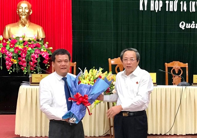 Giám đốc Sở TNMT được bầu làm Phó Chủ tịch UBND tỉnh Quảng Bình