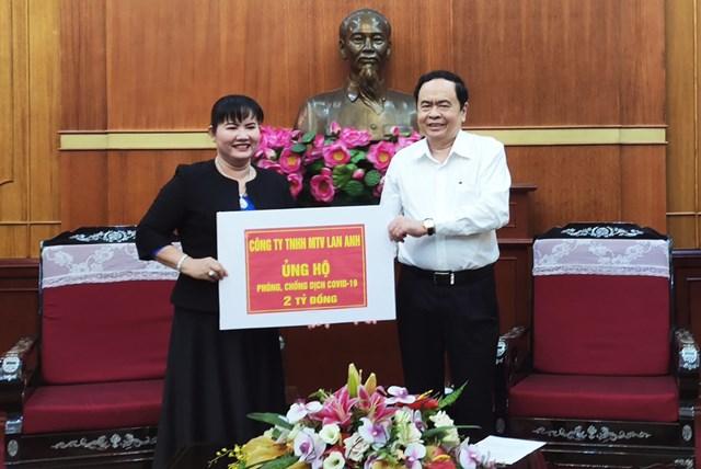 BẢN TIN MẶT TRẬN: Doanh nghiệp Việt tiếp tục chung tay ủng hộ phòng, chống dịch Covid-19