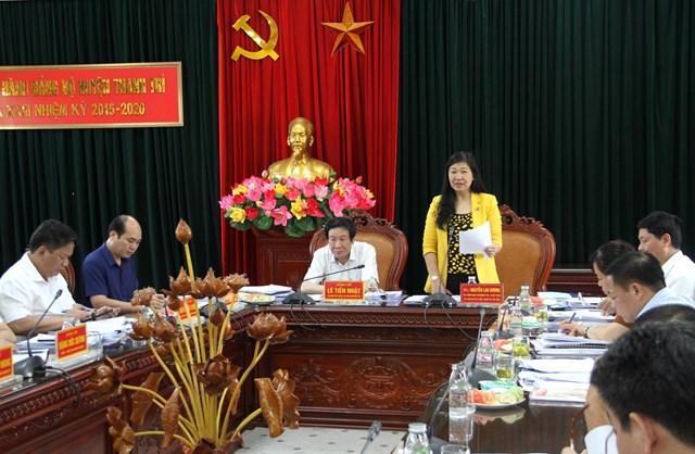 BẢN TIN MẶT TRẬN: Đoàn kiểm tra số 11 của Ban Thường vụ Thành ủy Hà Nội làm việc tại Thanh Trì