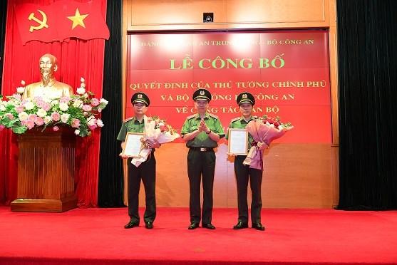 Công bố quyết định bổ nhiệm ông Trần Quốc Tỏ làm Thứ trưởng Bộ Công an - 1