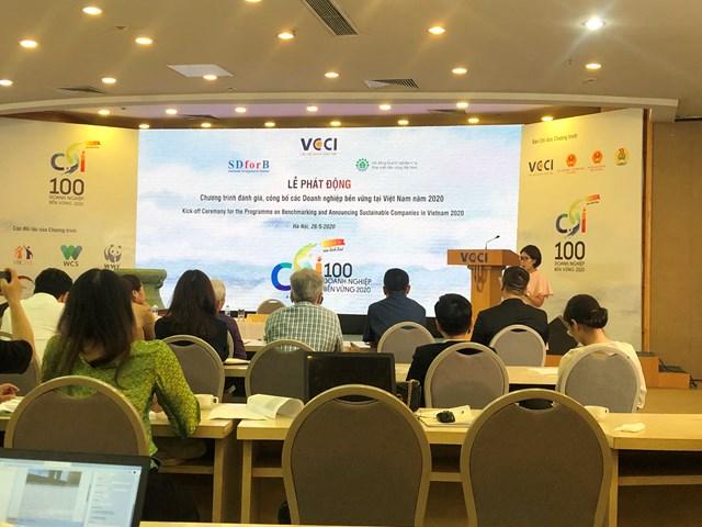 Phát động Chương trình đánh giá, công bố DN bền vững 2020