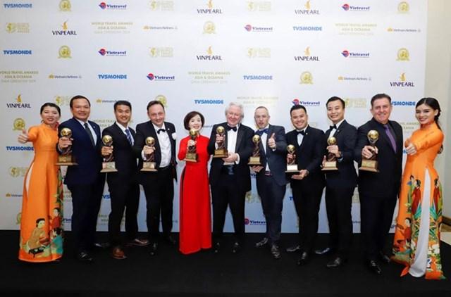 Dẫn đầu 9 hạng mục – VinPearl đạt kỷ lục tại giải hưởng du lịch thế giới Châu Á và Châu Đại Dương – WTA 2019