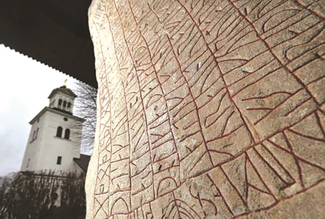 Tảng đá kỳ lạ của người Viking