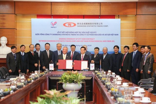 Lễ ký hợp đồng hợp tác sản xuất sợi giữa VNPOLY VÀ SSFC (Đài Loan) - 3