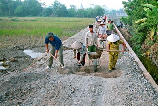Yên Mô (Ninh Bình): Quan tâm chăm lo đời sống người dân