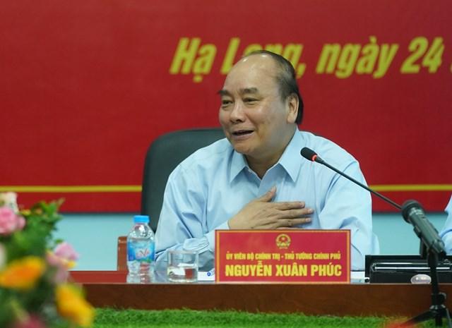 [ẢNH] Thủ tướng thăm công nhân mỏ Hà Lầm, Quảng Ninh - 5