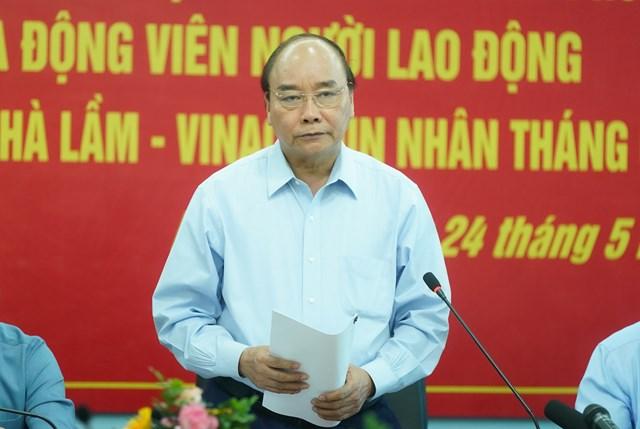 [ẢNH] Thủ tướng thăm công nhân mỏ Hà Lầm, Quảng Ninh - 7