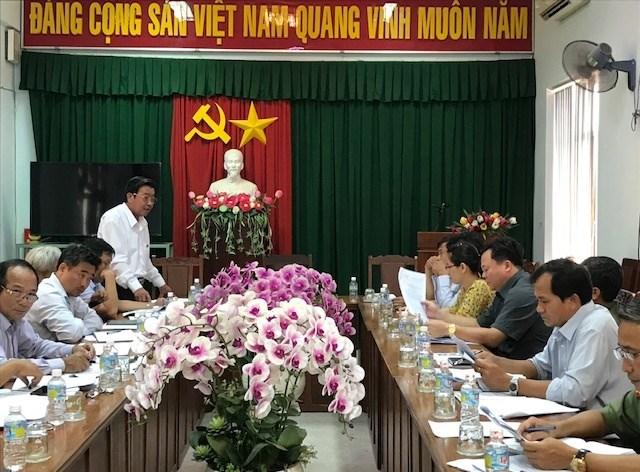 Mặt trận Bình Định: Kiểm tra công tác giám sát thực hiện chính sách hỗ trợ người dân ảnh hưởng do dịch Covid -19