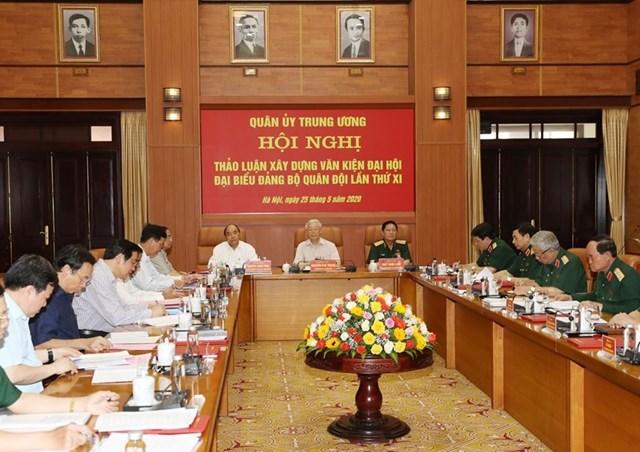 [ẢNH] Tổng Bí thư, Chủ tịch nước chỉ đạo tại hội nghị của Quân ủy TW - 2