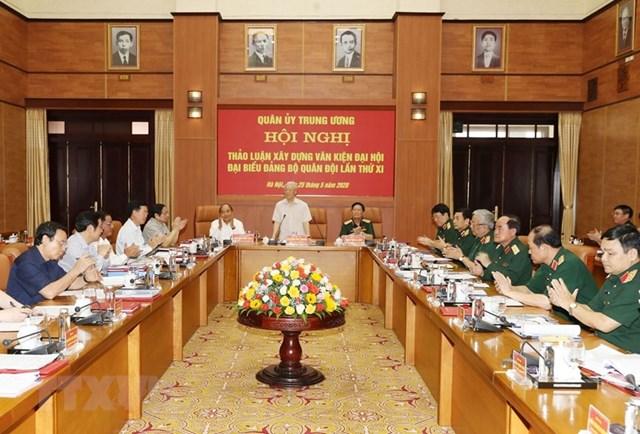 [ẢNH] Tổng Bí thư, Chủ tịch nước chỉ đạo tại hội nghị của Quân ủy TW - 3
