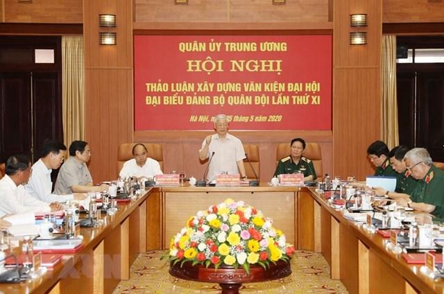 [ẢNH] Tổng Bí thư, Chủ tịch nước chỉ đạo tại hội nghị của Quân ủy TW - 5