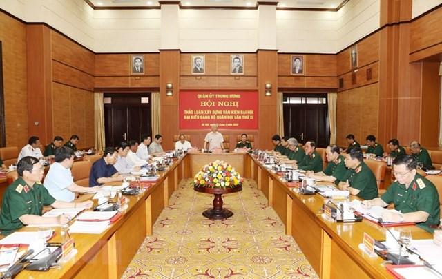 [ẢNH] Tổng Bí thư, Chủ tịch nước chỉ đạo tại hội nghị của Quân ủy TW - 6