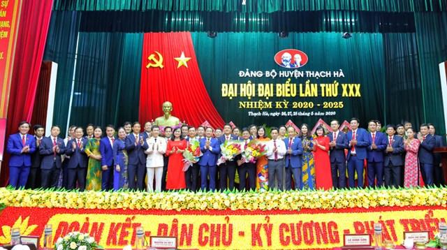 Hà Tĩnh: Đại hội Đảng bộ cấp huyện đầu tiên, bầu trực tiếp chức danh Bí thư Huyện ủy - 1
