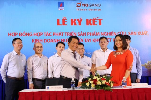 VPI và HQGANO hợp tác sản xuất nước rửa tay khô diệt khuẩn