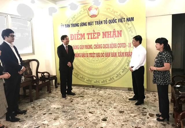 TP Hồ Chí Minh: Tiếp nhận sản phẩm trị giá 1,4 tỷ đồng ủng hộ phòng, chống dịch Covid-19 - 1