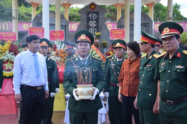 Quảng Nam: Tổ chức Lễ truy điệu và an táng hài cốt 17 liệt sỹ đặc công - 2