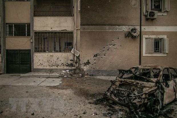 Libya: Nhiều thường dân thương vong trong vụ không kích vào Tripoli