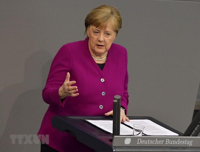 Thủ tướng Đức kêu gọi người dân không chủ quan dịch bệnh Covid-19