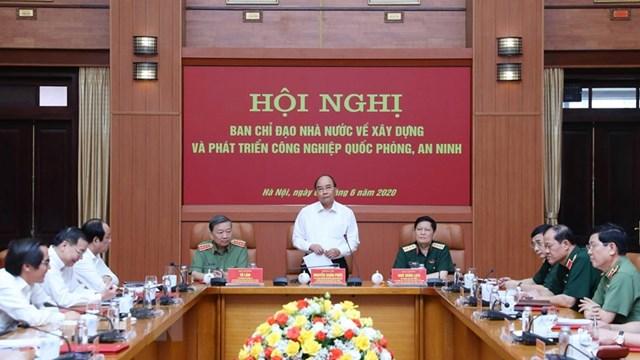 Thủ tướng: Phát triển công nghiệp quốc phòng, an ninh là nhiệm vụ cấp bách - 1