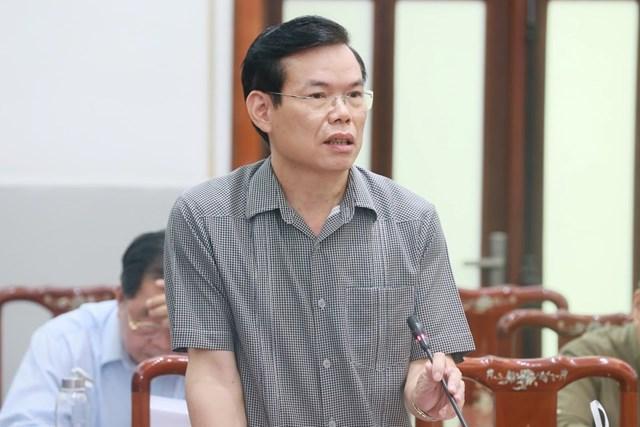 Ông Triệu Tài Vinh phát biểu. Ảnh: Quang Vinh.