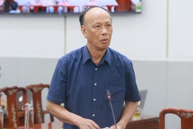 GS Trần Ngọc Đường phát biểu ý kiến. Ảnh: Quang Vinh.