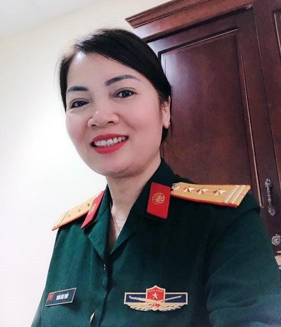 Thượng tá QNCN Trần Bích Thủy.