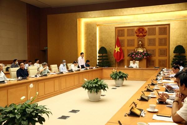Theo các chuyên gia, về cơ bản đã khoanh vùng được ổ dịch thực sự, phần lớn là từ cụm 3 BV tại Đà Nẵng. Ảnh: VGP.