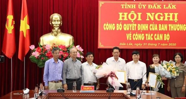 Đắk Lắk: Phó Chủ tịch MTTQ tỉnh giữ chức Phó Chánh Văn phòng Tỉnh ủy