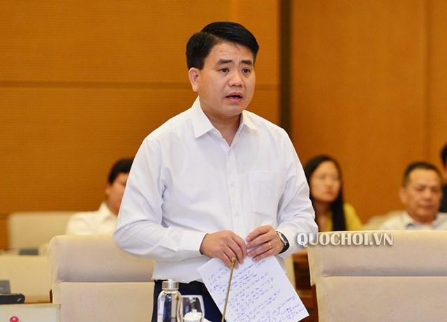 Ông Nguyễn Đức Chung, Chủ tịch UBND TP Hà Nội đã bị khởi tố, bắt tạm giam.